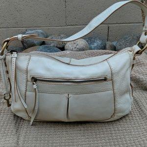 Fossil leather handbag